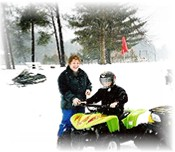 Winter ATV & Snowmobiling